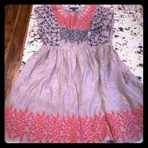 Twentyone Black Label Silk Blend Mini Dress M